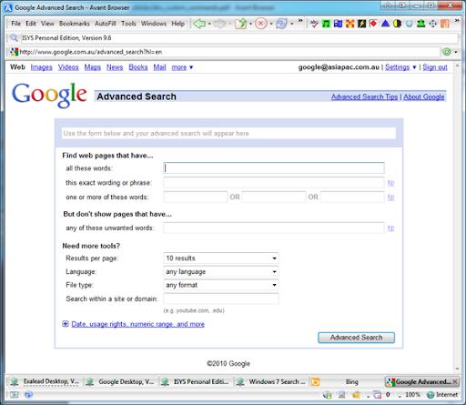 exalead desktop search